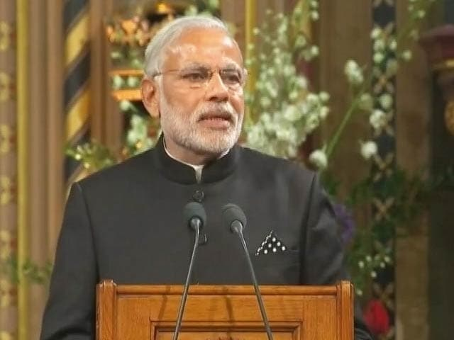 Video : We Will Open More Doors of Cooperation: PM Modi at British Parliament