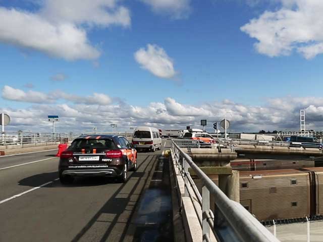 Video : #GLAadventure's Eurotunnel Journey Across the English Channel