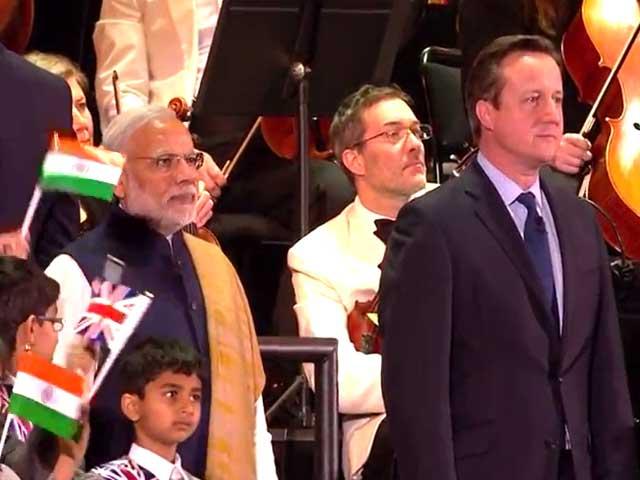Videos : वेम्बले स्टेडियम में पीएम मोदी का जोरदार स्वागत