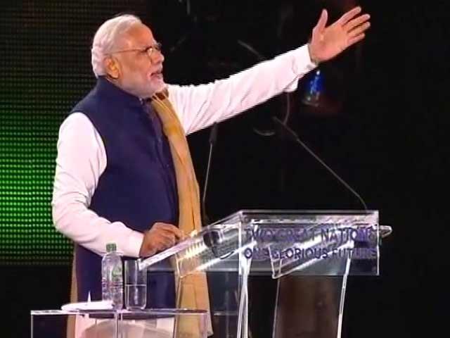 Videos : पूरी दुनिया आज भारत को उम्मीद भरी नजरों से देख रही है : वेम्बले स्टेडियम से पीएम मोदी
