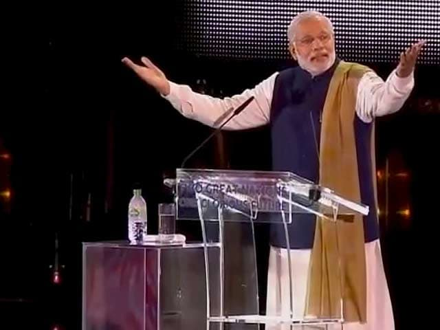Video : No Reason for India to Remain Poor, Says PM Modi at Wembley
