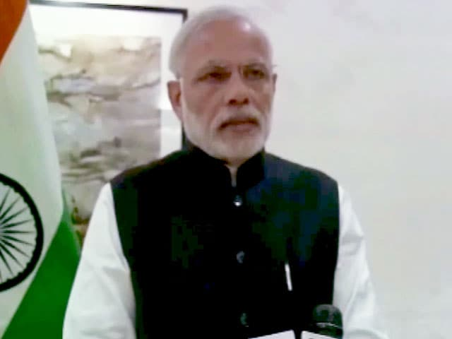 Video : PM Modi Describes Paris Terror Strike as an 'Attack on Humanity'
