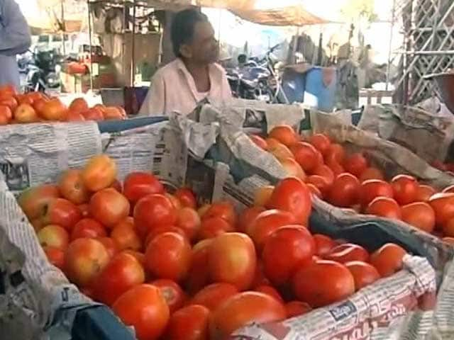 Video : At Rs 60 a Kilo, Tomatoes Now Bring Tears