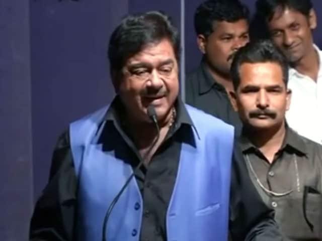 Video : बीजेपी सांसद शत्रुघ्न सिन्हा ने फिर साधा बीजेपी पर निशाना