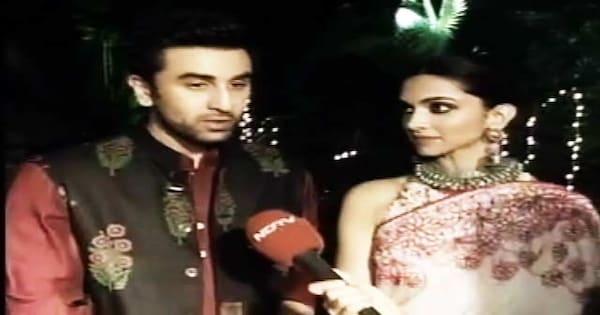 Deepika Padukone, Ranbir Kapoor Get Candid About Each Other