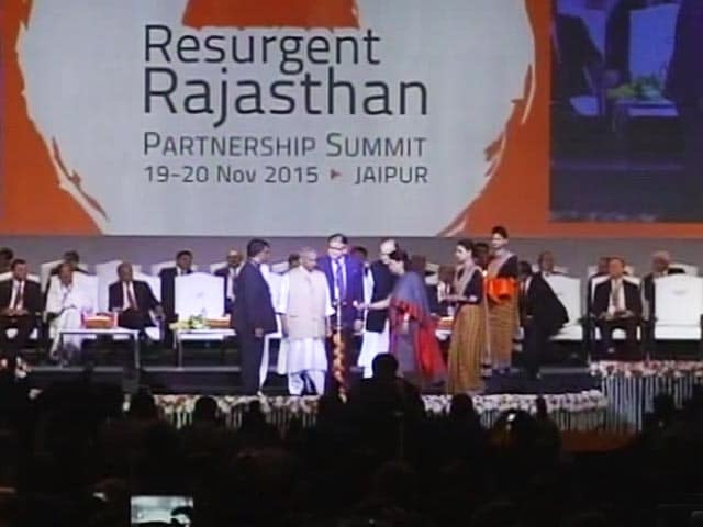 Video : Industry Leaders Make a Beeline for Resurgent Rajasthan