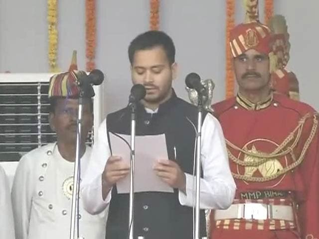 Video : Tejaswi Yadav, Lalu Yadav's Son, Is Deputy Chief Minister At 26