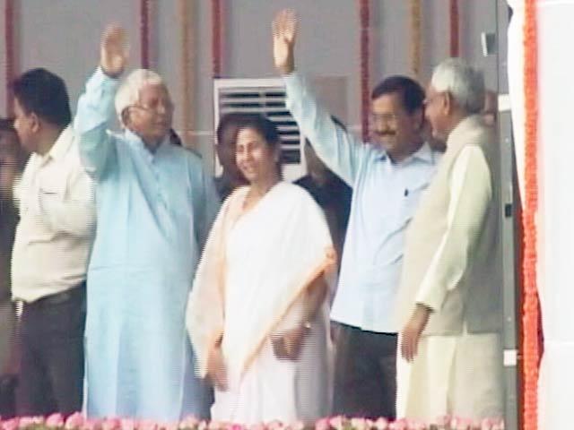 Videos : शपथ बिहार की, सियासत भारत की...