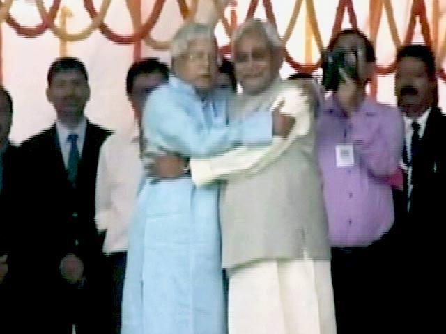 Videos : नेशनल रिपोर्टर : ताज नीतीश का,राज लालू का!