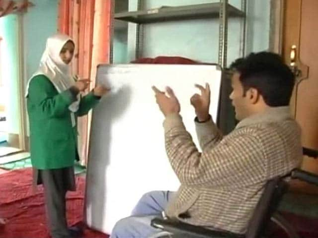 Video : Struck by Terror, This Kashmir Teacher is Now Spreading Hope
