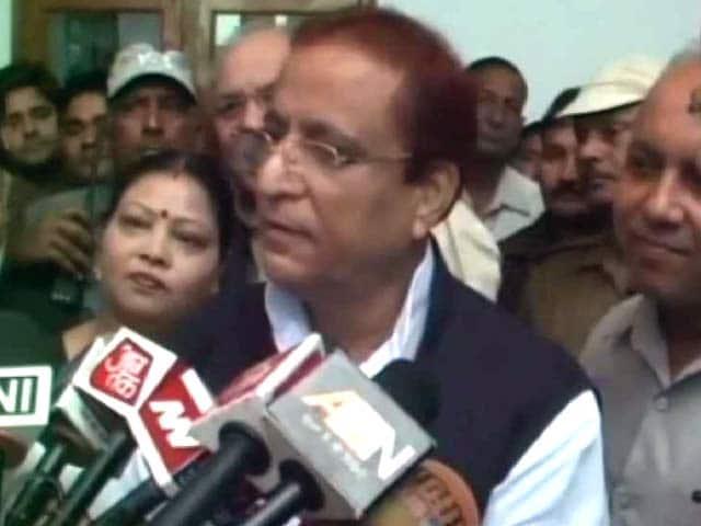 Video : आजम खान ने अमर सिंह की तुलना कूड़े से की