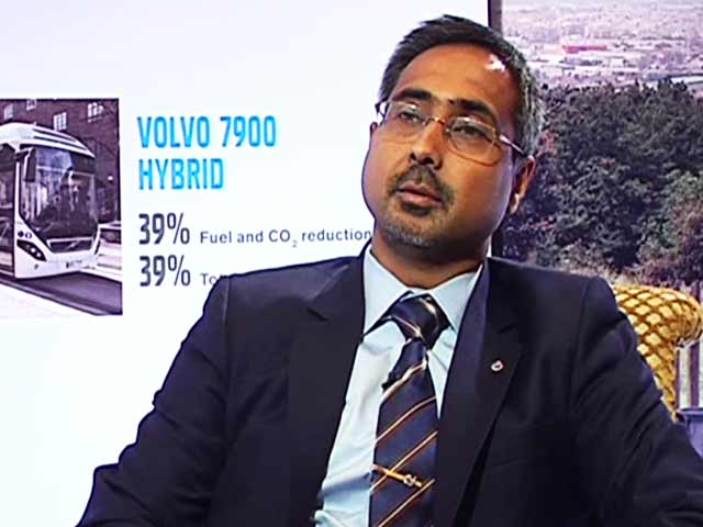 Video : Volvo to Launch Hybrid Buses in India