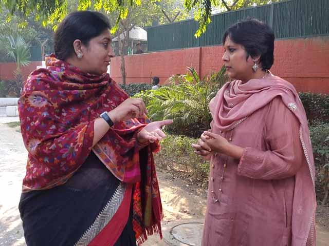 Video : I am Living Example of PM Modi's Tolerance, Smriti Irani Tells NDTV