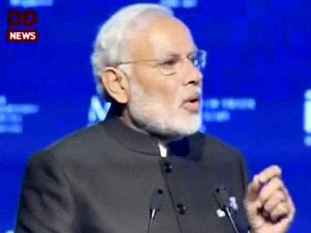 Video : PM Modi's Address at Economic Convention in Singapore