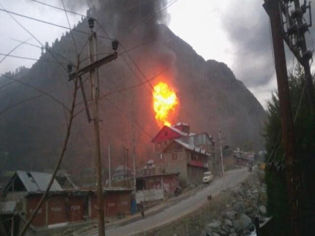 Video : Video of Tangdhar Gunbattle Where 3 Terrorists Were Killed