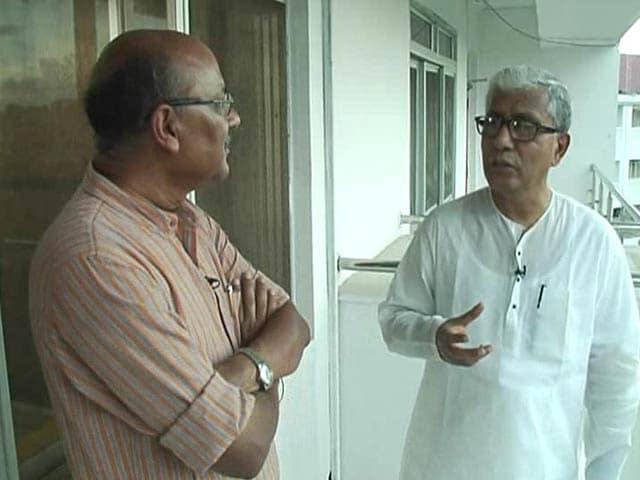 Video : Walk The Talk With Tripura Chief Minister Manik Sarkar