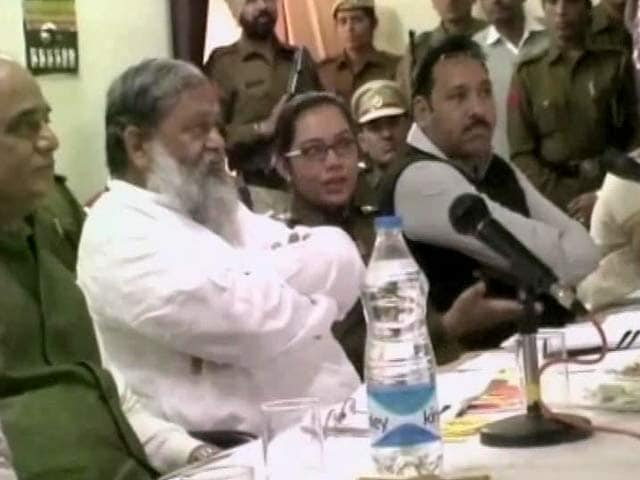 Video : Haryana Woman Cop Transferred After Heated Exchange With Minister