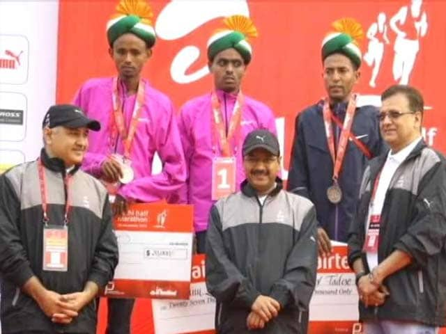 Video : Half Marathon Tests Delhi's Lung Power