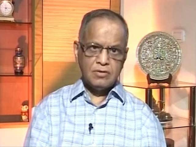Video : IT Czar Narayan Murthy on How to Boost Education Sector