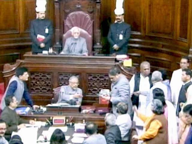 Videos : पूर्व मंत्री शैलजा के बयान पर राज्यसभा में हंगामा