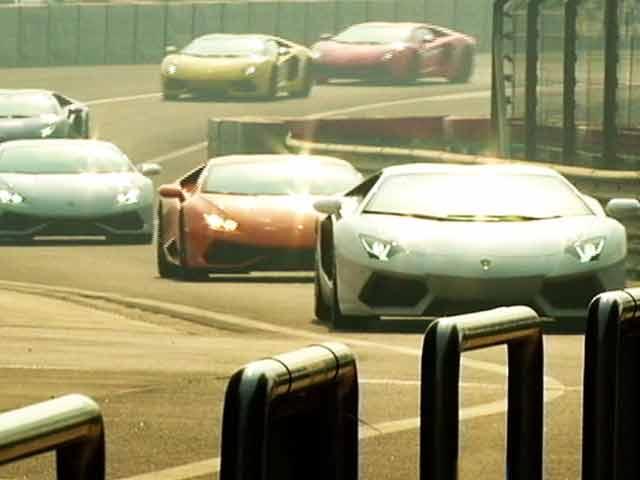 Video : Lamborghini Huracan & Aventador on The Track
