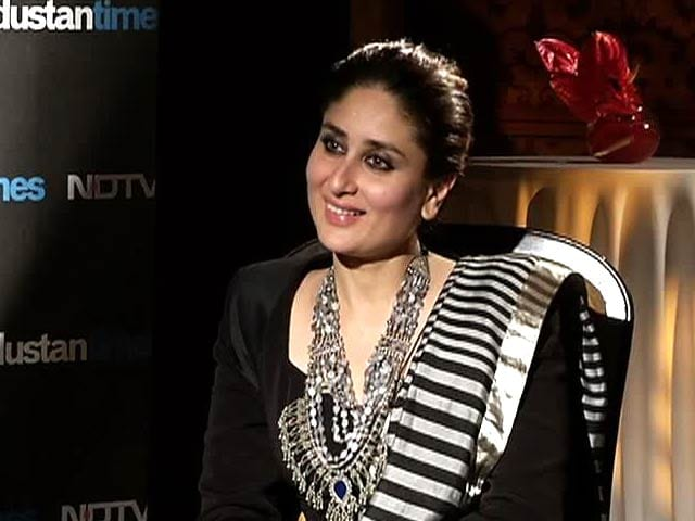 Video : Kareena Finds Objection to Item Numbers 'Hypocritical'