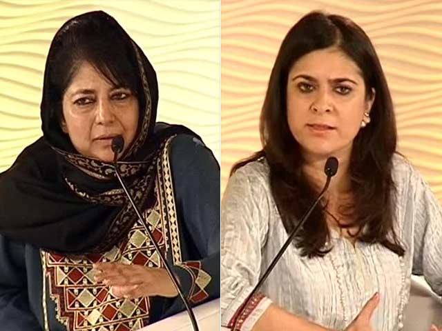 Video : 'No Fiddling with Article 370,' Says PDP Chief Mehbooba Mufti