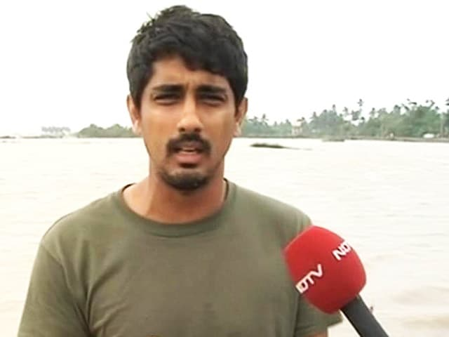 Video : Freaked Out After Losing Home for First Time: Actor Siddharth to NDTV