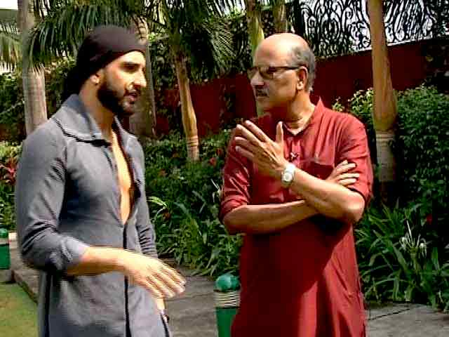 Video : Walk The Talk With Actor Ranveer Singh