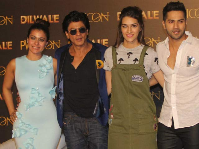 Video : Kriti, Varun Busy 'Holding the Fort' for <i>Dilwale</i>