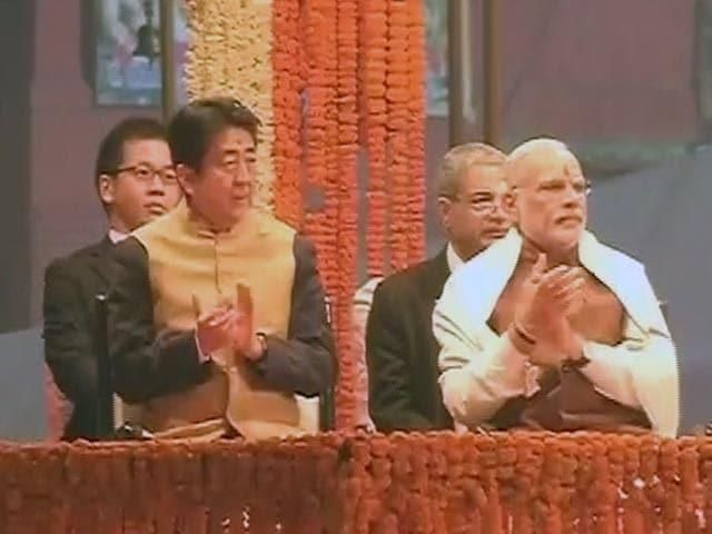 Video : वाराणसी में पीएम मोदी और शिंजो आबे ने की गंगा आरती