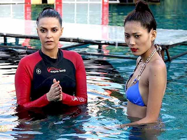 Video : Troubled Waters for Kingfisher Supermodels?