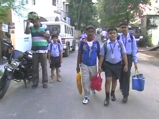Video : Chennai Schools, Colleges Re-Open After Month-Long Holiday