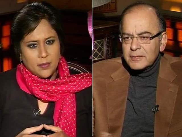 Video : Rahul Gandhi Needs to Stop Being A Cry Baby: Arun Jaitley to NDTV