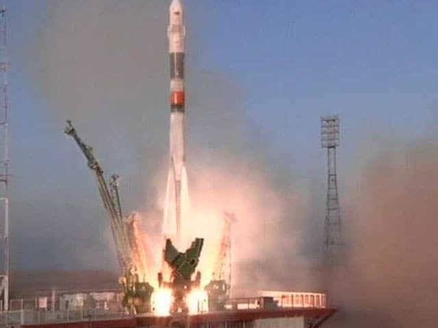 Video : First Briton to Travel to International Space Station Blasts Off