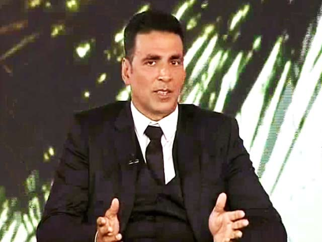 Video : Youth Should Consider Being Farmers: Akshay Kumar