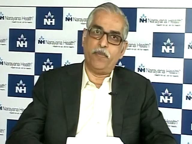 Video : Narayana Hrudayalaya CEO on Growth Plans