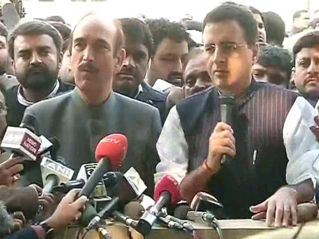 Video : BJP Has Rewarded Swamy For Case Against Gandhis, Says Congress