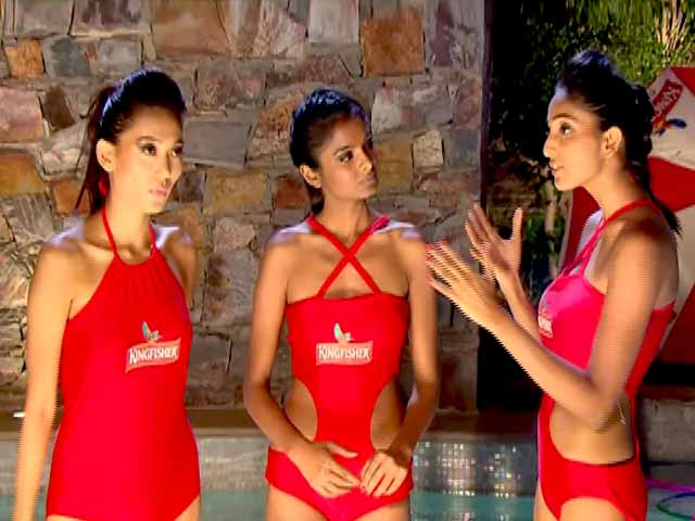 Video : Kingfisher Supermodels Push Their Limits