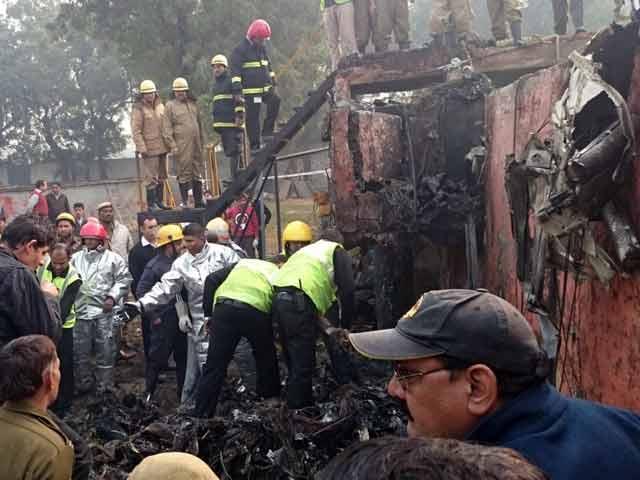 Video : 10 BSF Personnel Killed As Aircraft Crashes Near Delhi Airport