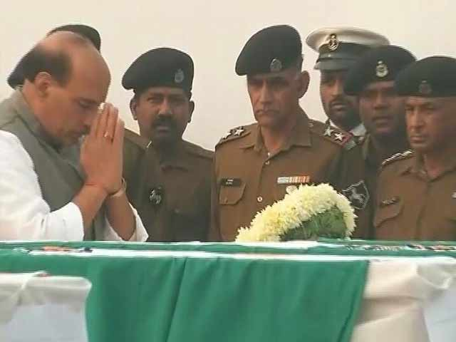Video : Home Minister Pays Homage To Personnel Who Died in BSF Plane Crash