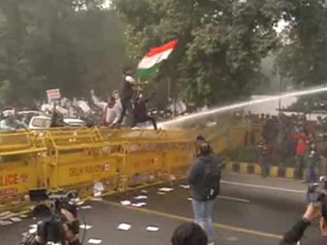 Video : In Tit-For-Tat, AAP Protests Outside Arun Jaitley's House