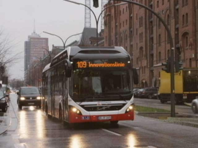 Video : Volvo Hybrid Buses in India
