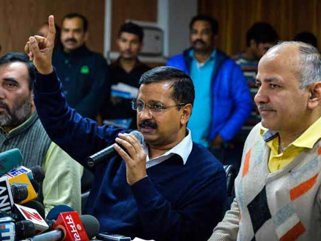 Video : AAP Dig On Cricket Probe Row: BJP Rubbished Commission, Now It is Gospel?