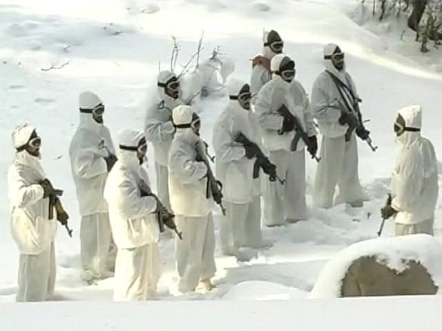 Video : In Snow-Covered Gulmarg, Soldiers At LoC Fight A Different Battle