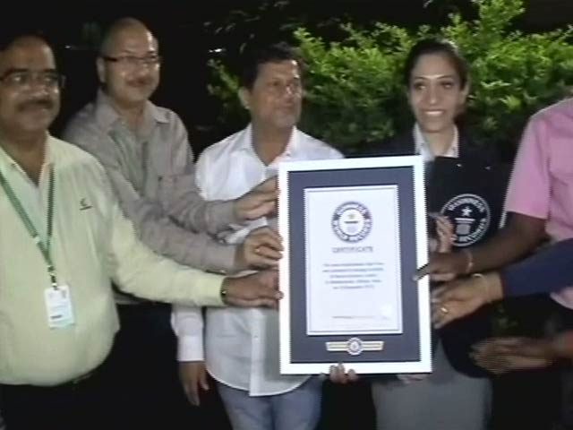 Video : Kalinga Institute of Social Sciences Breaks Two World Records in One Day