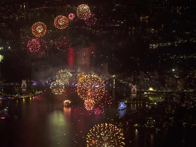 Video : Australia Welcomes the New Year