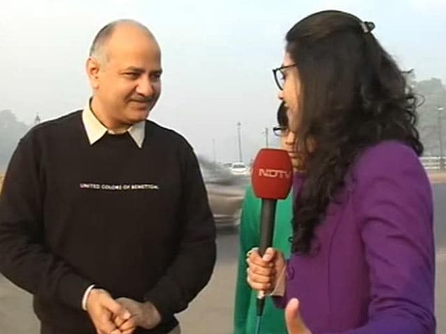 Video : 'We Need To Think About Our Children,' Says Manish Sisodia