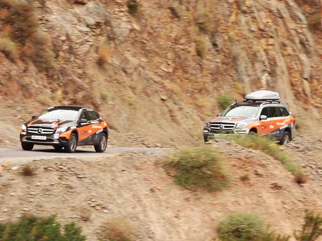 Video : #GLAadventure at the Tizi-n-Test Pass