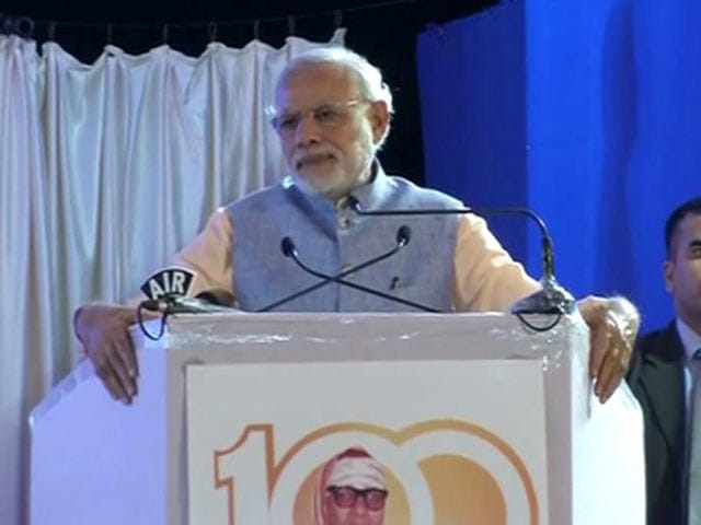 Video : Enemies Of Humanity Carried Out Pathankot Attack, Says PM Modi